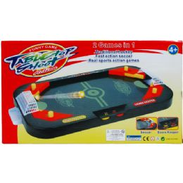 """18 of 14"""" 2in1 Tabletop Shooting Game In Color Box"""