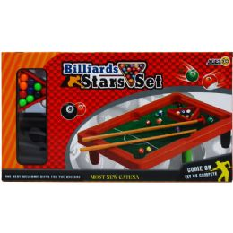"""36 of 8.5""""x12"""" Pool Table Play Set In Color Box"""