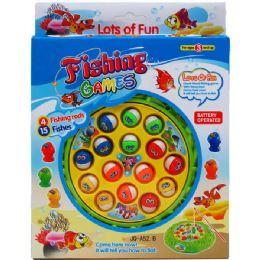 36 of 19pc B/o Fishing Game Set In Pegable Window Box