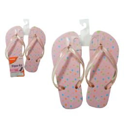 72 of Sandals For Girls 6asst Colors