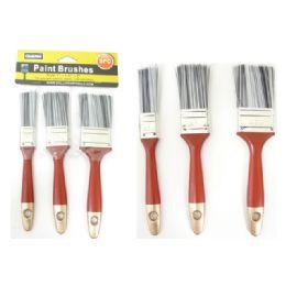 "96 of Paint Brushes 3pc /set 1,1.5,2"""