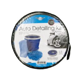 6 of Car Wash Kit With Collapsible Bucket