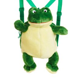 24 of Plush Frog Backpacks