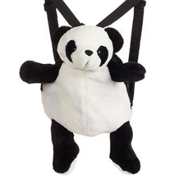 24 of Plush Panda Backpacks