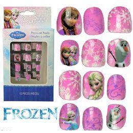 48 of Disney's Frozen Kiddie PresS-On Nails