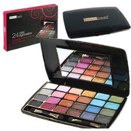 96 of 24 Color Eye Shadow Palettes W/ Mirror.