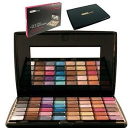 48 of 48 Color Eye Shadow Palettes W/ Mirror.