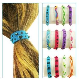 288 of 2-IN-1 Bead Pony Tail Holders /bracelets.