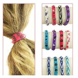 432 of 2-IN-1 Pony Tail Holders /bracelets