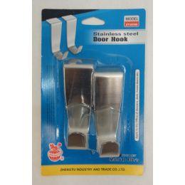24 of 2pk Stainless Steel Door Hooks