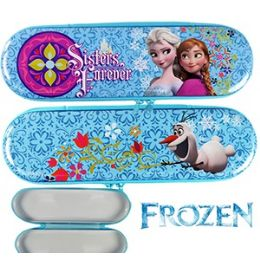 48 of Disney's Frozen Sisters Forever Metal Pencil Boxes