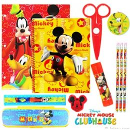 12 of Disney's Mickey Mouse 11-Piece Value Playpacks