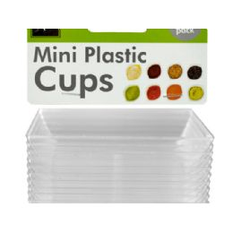 36 of Clear Mini Dipping Dishes Set