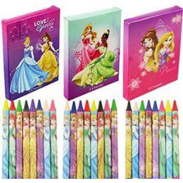 24 of 8 Piece Disney's Princess CrayonS- 3 Pack