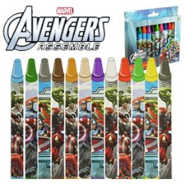 48 of Jumbo Avengers Crayons