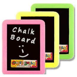 72 of Plastic Chalkboard Sets