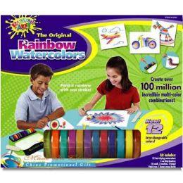 16 of Rainbow Watercolor Art Set