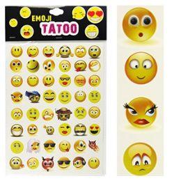 300 of Emoji Temporary Tattoo Sets