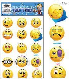 200 of Emoji Temporary Tattoos