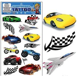 200 of Racing Temporary Tattoos