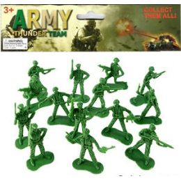 48 of 36 Piece Army Thunder Soldiers