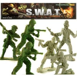 48 of 100 Piece S.w.a.t. Soldiers