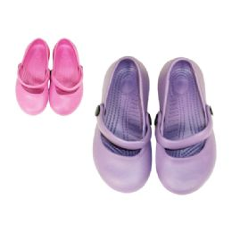 72 of Girl's Slippers With Strap