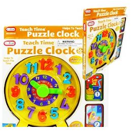 16 of Teach Time Puzzle Clocks.