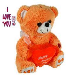 24 of Plush Orange Mother's Day Bears W/sound.