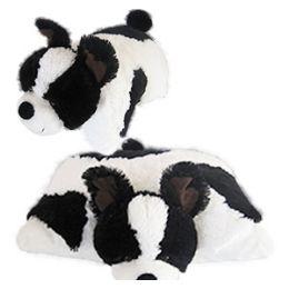8 of Plush Zoopurrpet Oreo The Dog Pillows.