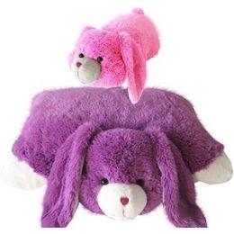 8 of Plush Zoopurrpet Bebe The Bunny Pillows.