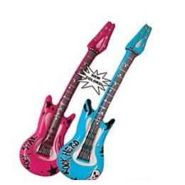 48 of Rock Hero Inflatable Guitars