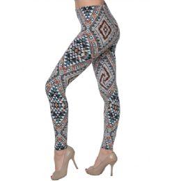 36 of Fashion Tribal Print Leggings