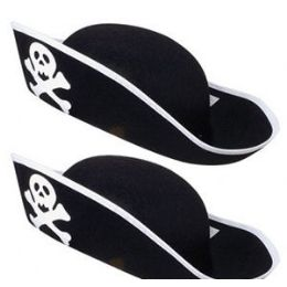 36 of Adult Pirate Hats