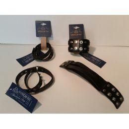48 of American Rag Unisex Leather Bracelets