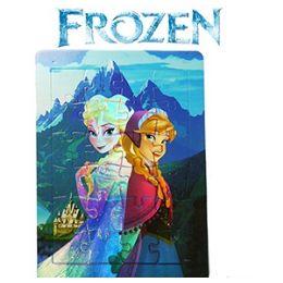 36 of Disney's Frozen Foil Puzzles.