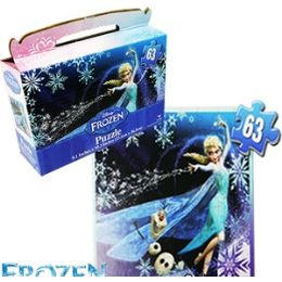 24 of Disney Frozen Gift Box Puzzles.