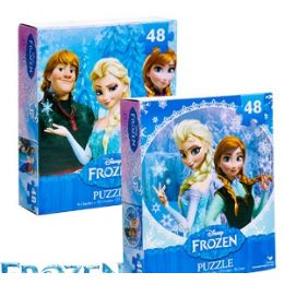 36 of Disney's Frozen Jigsaw Puzzles