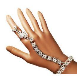 12 of Belly Dance Slave BraceletS- Silver