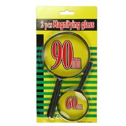 60 of 2 Piece Magnifying Glass Sets