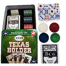 12 of Texas Hold'em Poker Sets.