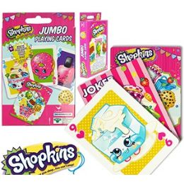 24 of Jumbo Shopkins Playing Cards.