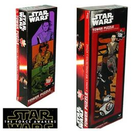 36 of Star Wars Tower Jigsaw Puzzles
