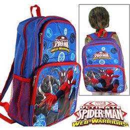 12 of Spiderman Cargo Backpacks.