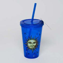 20 of Tumbler Insulated Acrylic 16oz W/straw Celestial Cup