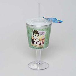 20 of Goblet Insulated 12oz W/straw Audrey Tiffany