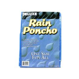 72 of Hooded Rain Poncho