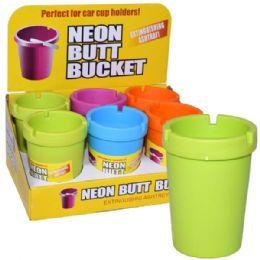 48 of Butt Bucket Counter Display Neon Top