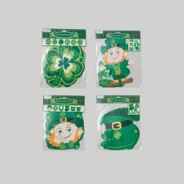 72 of Cutouts/banners St Patrick 4 Ast 2each Jointed Banner/6 Count Cutout St Pat Pbh