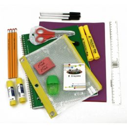 40 of 16 Piece Universal School Supply Kit For Students From Grades K-12